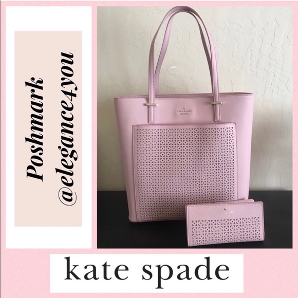 kate spade Handbags - ✨KATE SPADE✨Authentic Pink Tote & Wallet Set!